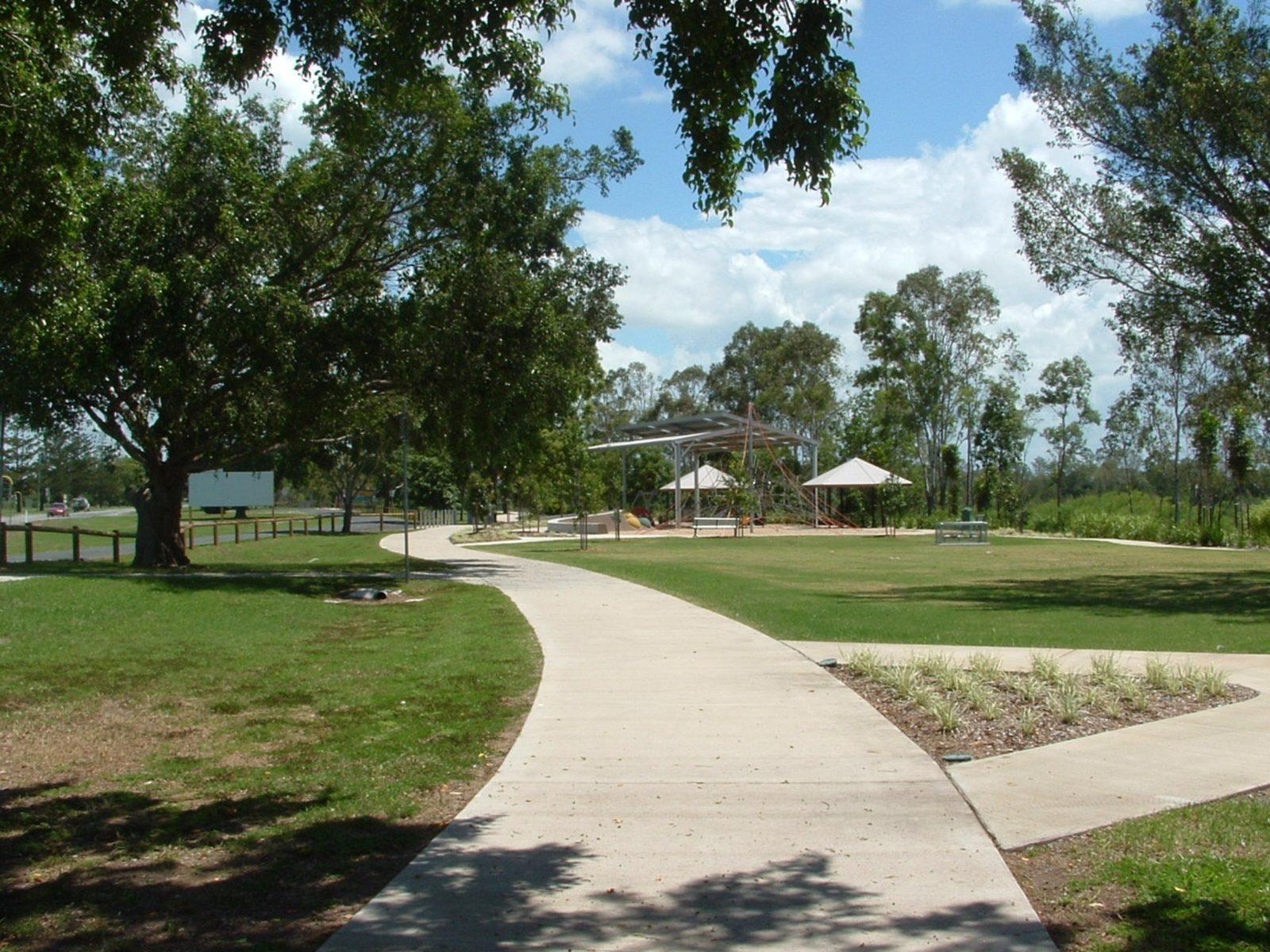 path to playground