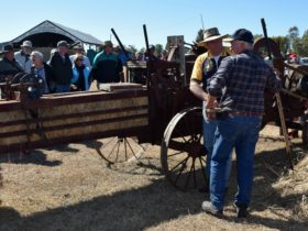 Hay Baling Old Wheels In Motion