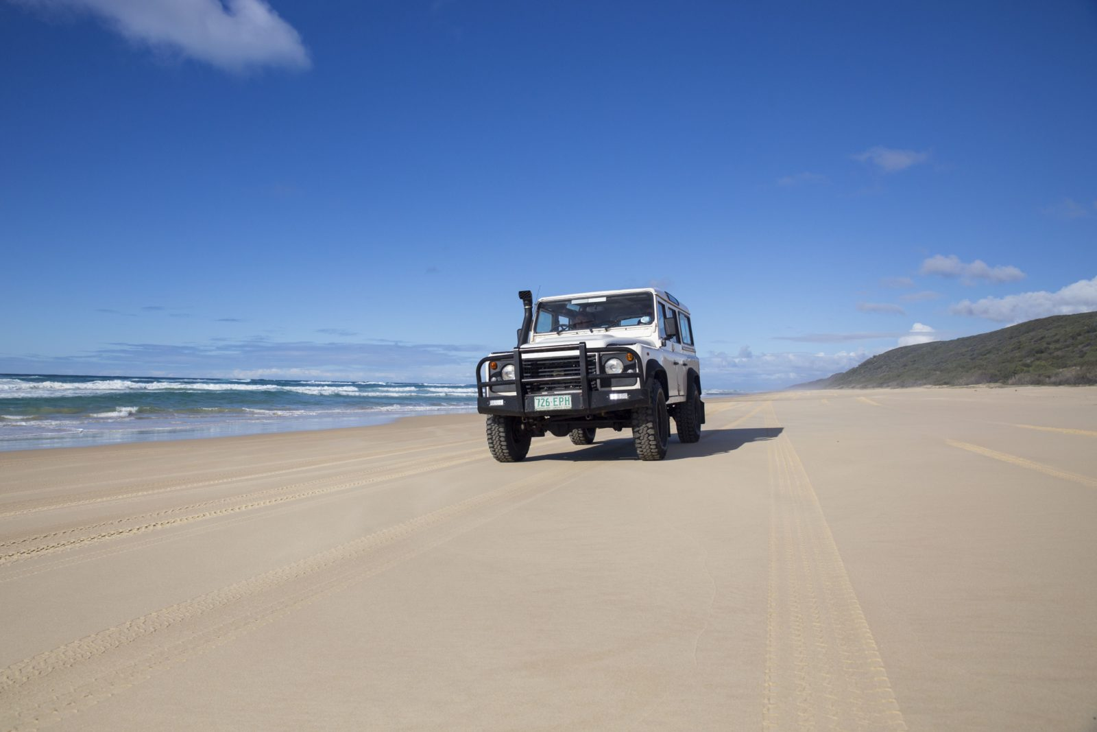 Four Wheel Driving on 75 Mile Beach