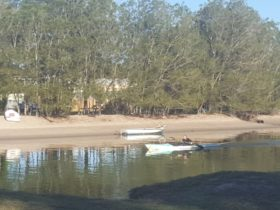 Water sports on Mayes Canal and Mooloolah River