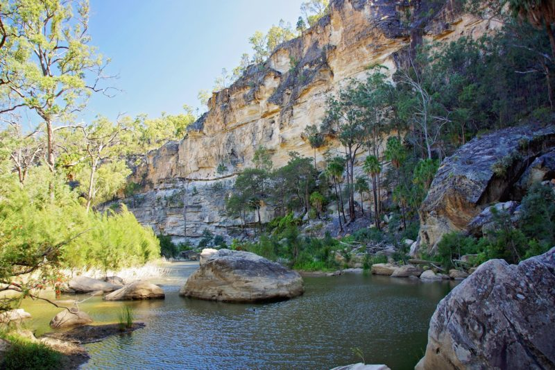 Robinson's Gorge, Expedition National Park