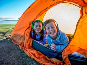 Experience Somerset - kids camping