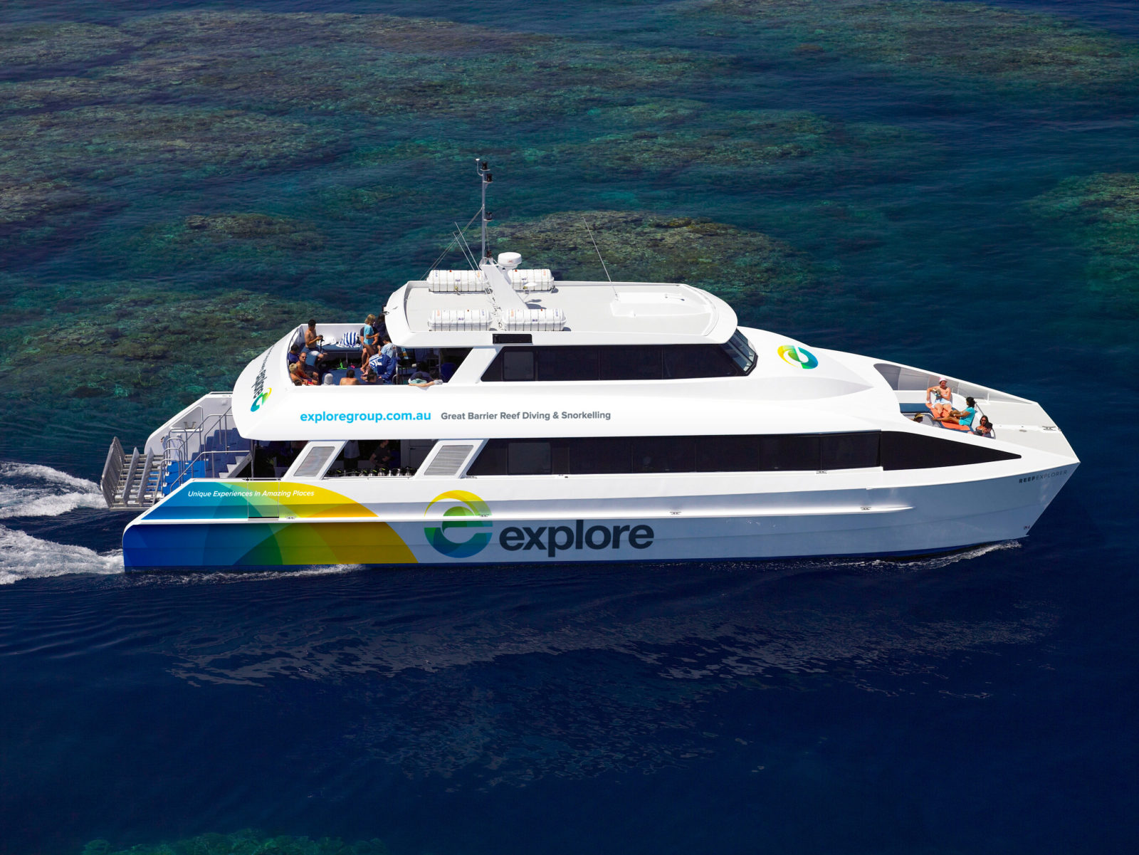 See the world beneath the waves and dive at one of the most famous reefs – The Great Barrier. One of
