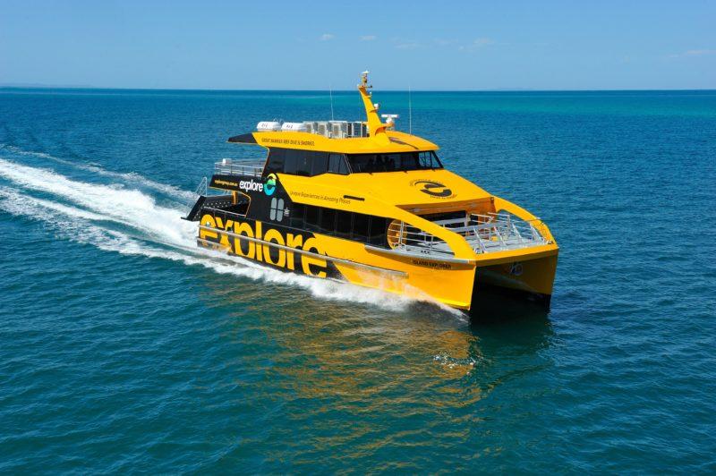 Island Explorer cruising the magnificent Whitsundays