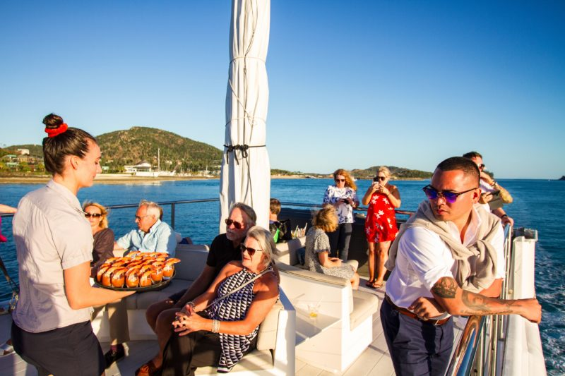 Hamilton Star - Watch the Whitsundays sunset whilst dining in style