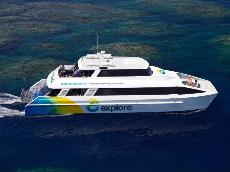Reef Explorer - Explore the outer reef at the incredible Bait Reef