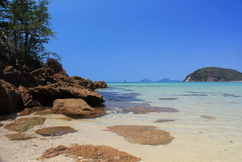 Visit pristine beaches with Southern Cross Sailing Adventures