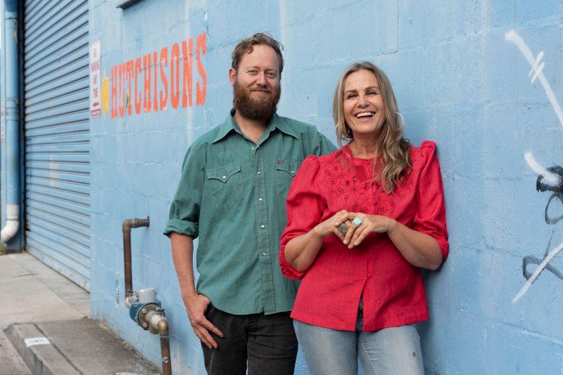 Ash Bell and Sara Tindley (AUS)