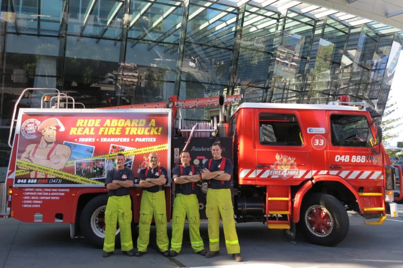 Fire4Hire Fire Truck Tours & Transfers