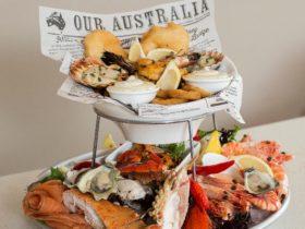 Seafood platter, fresh seafood