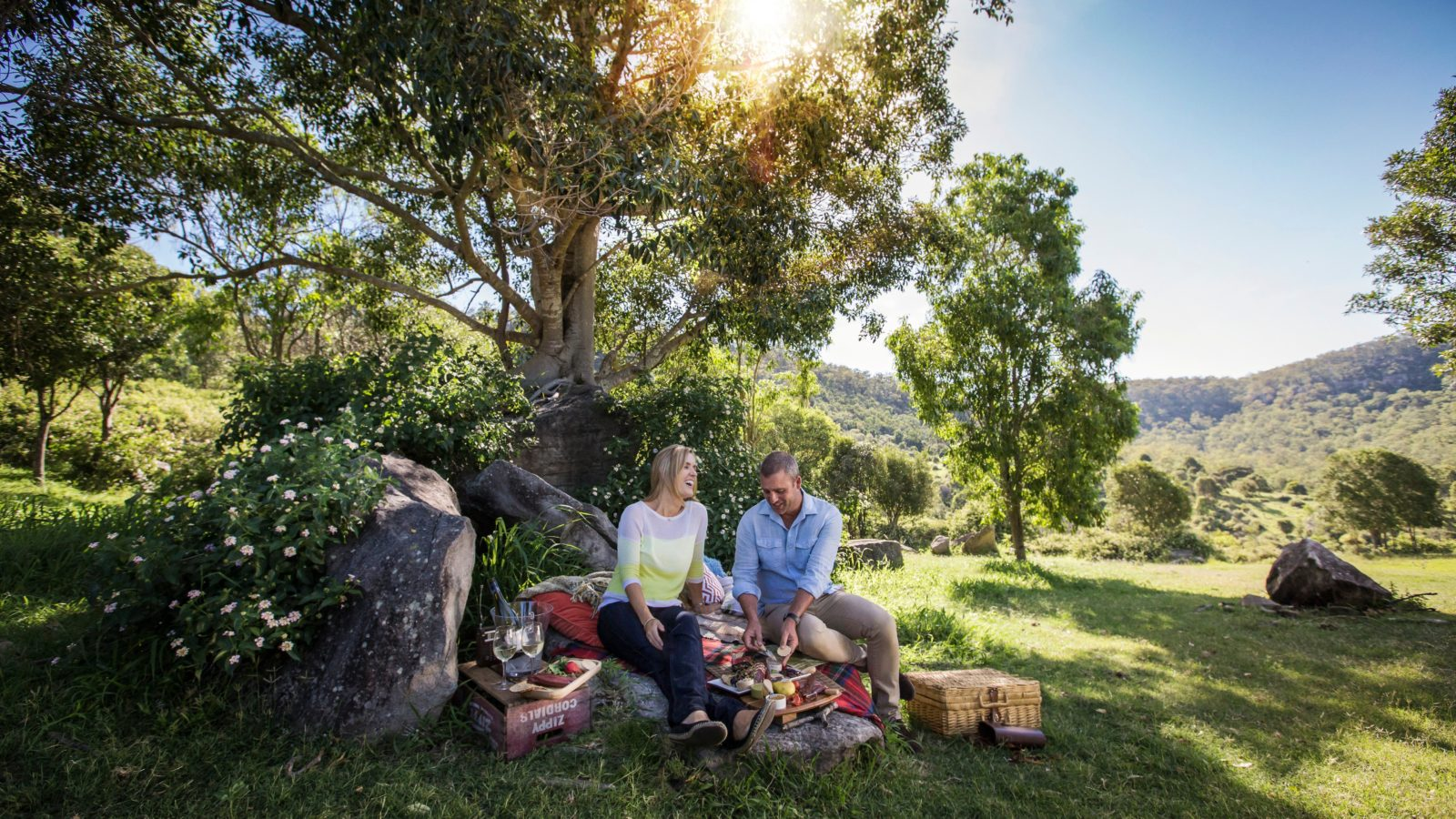 Picnic at Fordsdale Farmstay