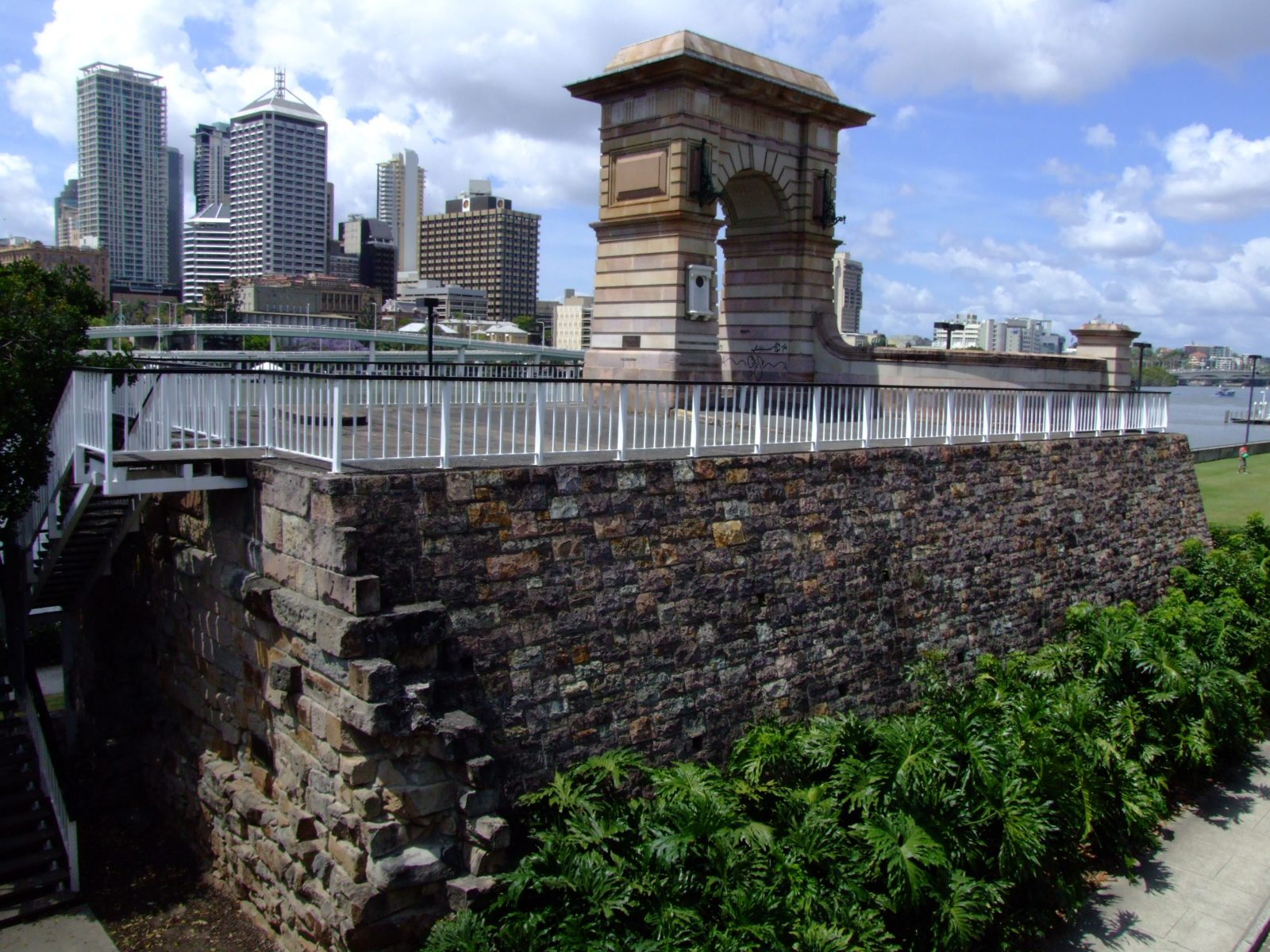 Former Victoria Bridge Abutment Brisbane