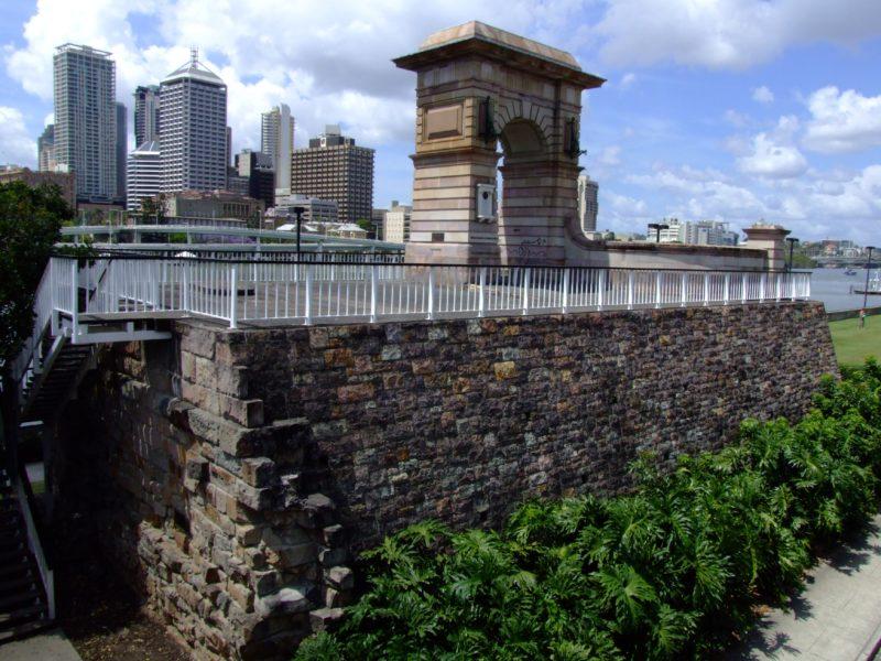 Former Victoria Bridge Abutment Brisbane