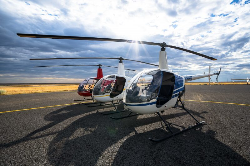 fox helicopter services aircrafts