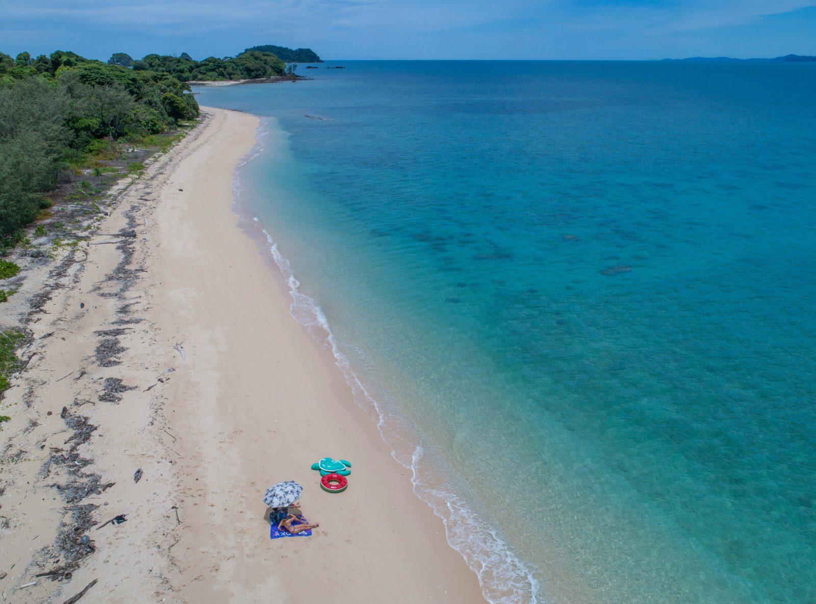 Normanby Island Beach