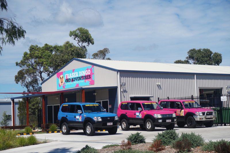 Fraser Dingo four wheel drive office