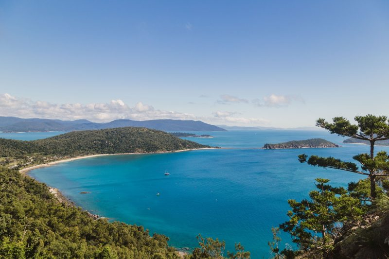 Spion Kopp Lookout, Hiking South Molle Island, Hiking Trails Whitsundays