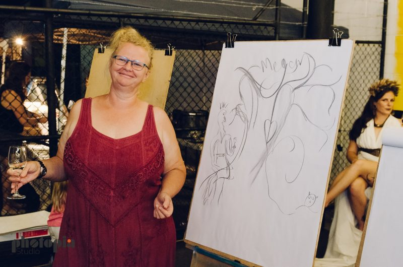 Life drawing at Crow Street Creative