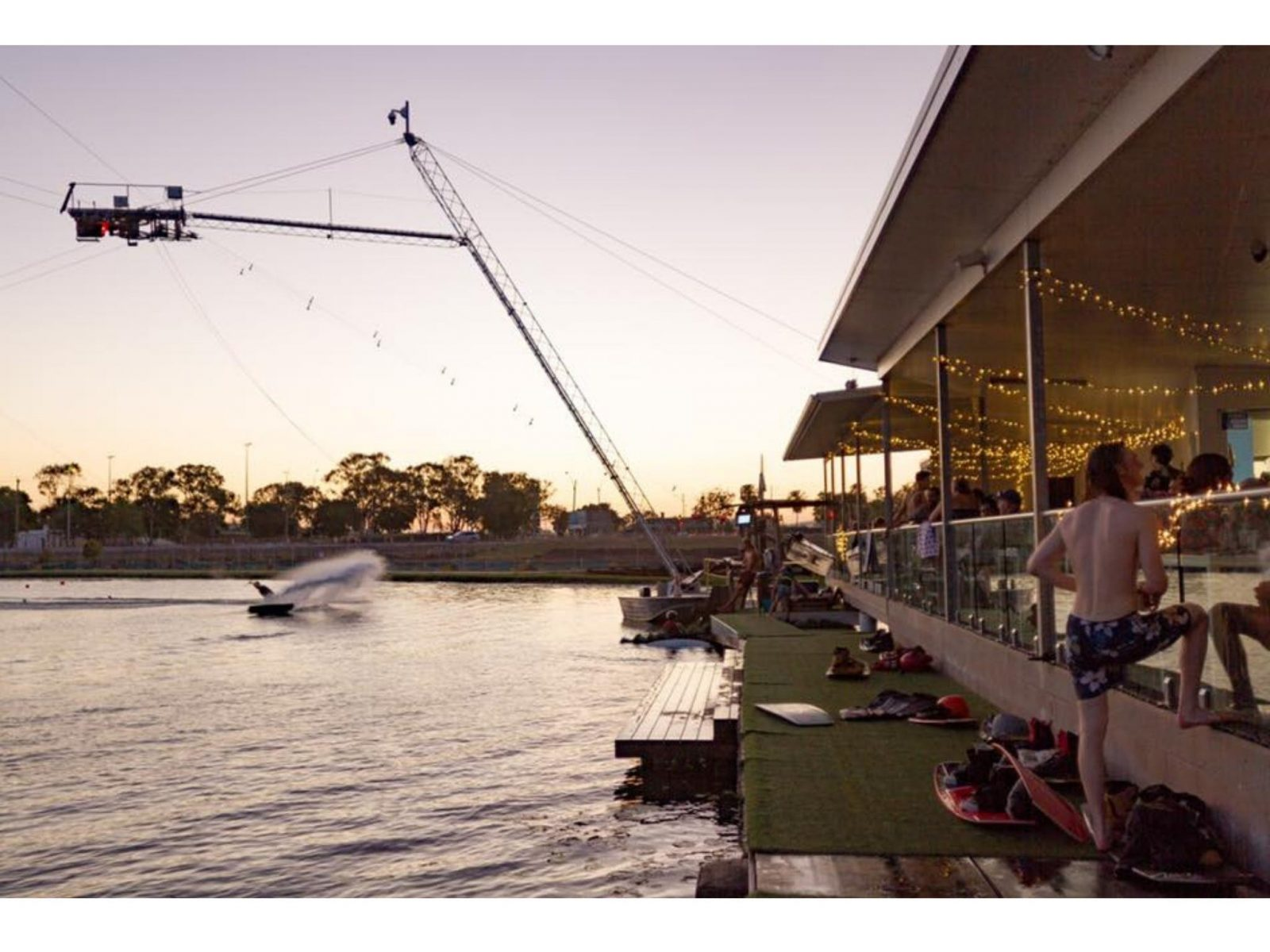 live music Mackay, wakeboarding in Australia, sunset at the wake park, best thing to do in Mackay