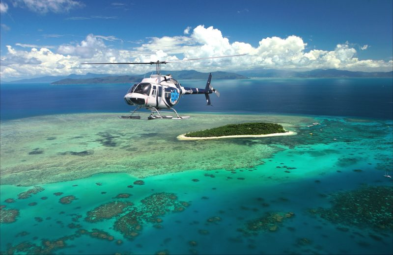GBR Helicopters daily flights Green Island