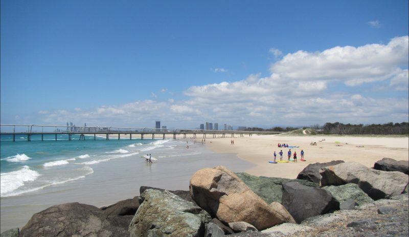 The best beginner beach on the Gold Coast