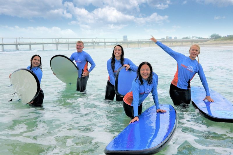 "Take part in a group ""Learn to Surf"" lesson!"
