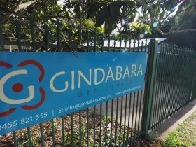 Gindabara, a place of laughter accommodating groups of 14 - 20 people