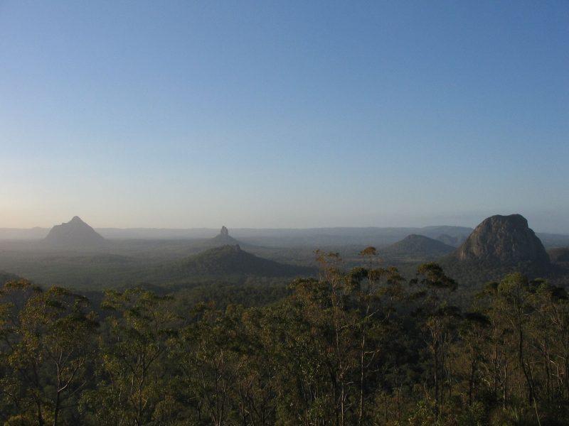 View of GHM from Mt.Beerburrum