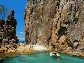Visit amazing places you can only reach by bareboat when you Go Bareboating in the Whitsundays
