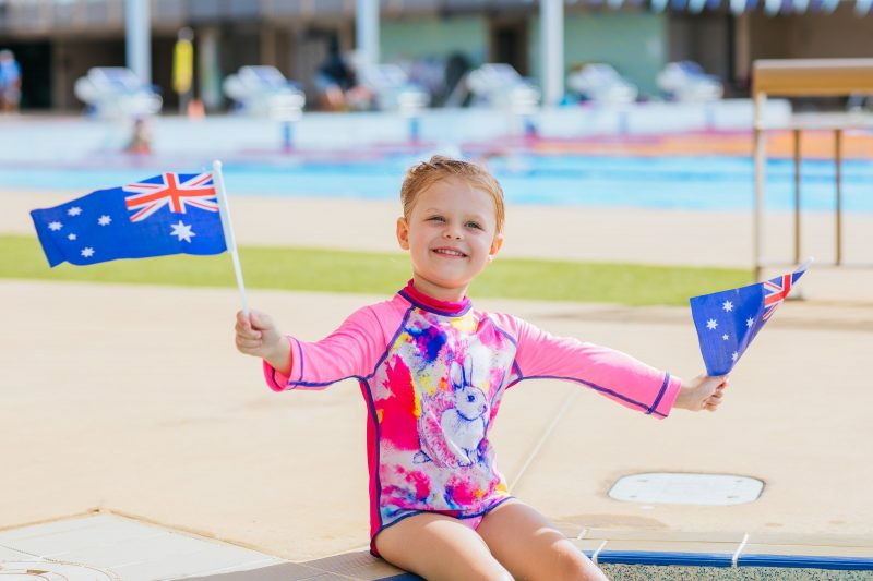 Australia Day Pool Party at the Gold Coast Aquatic Centre