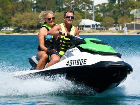 Jet ski safari island tour