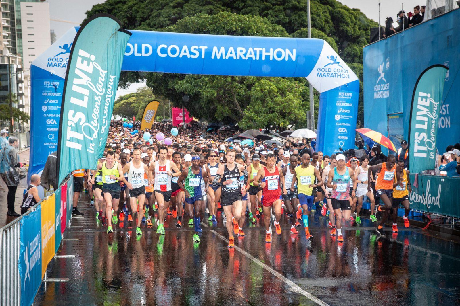 Gold Coast Marathon start
