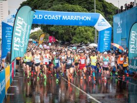 Gold Coast Marathon start