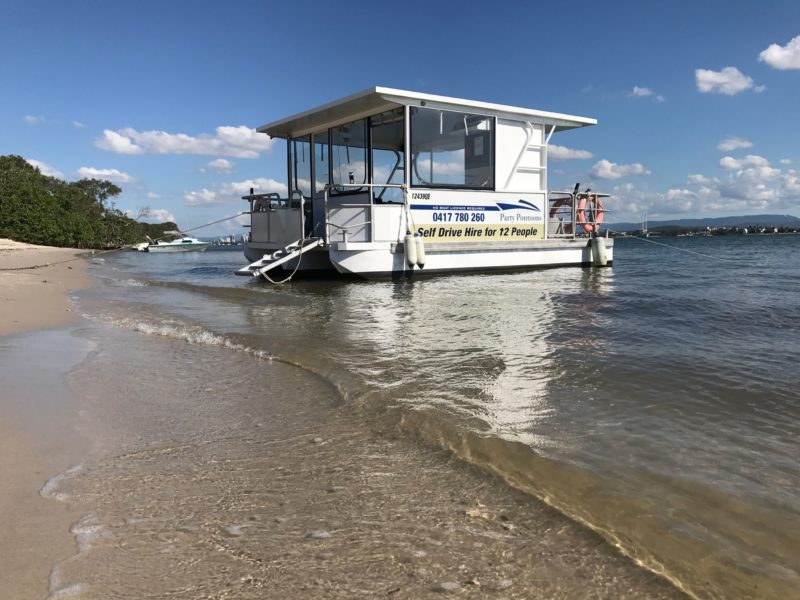 Craig Bultitude and Gold coast party pontoons