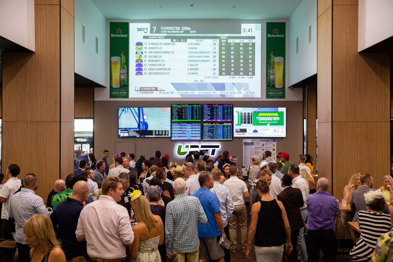 Brand new Betting Auditorium with big screen