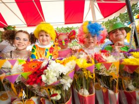 Toowoomba Carnival of Flowers - Grand Central Floral Parade