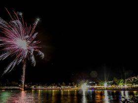 Whitsunday Coast Airport Fireworks on the Foreshore