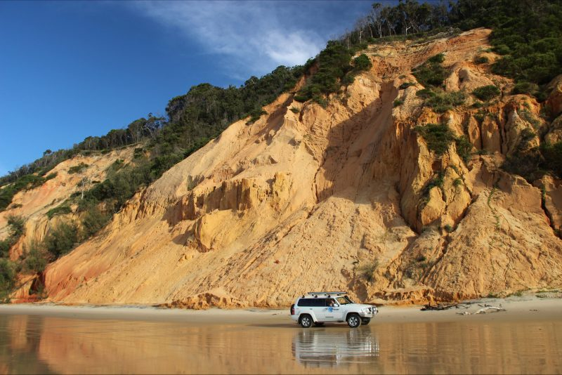 Coloured Sands on the Great Beach Drive