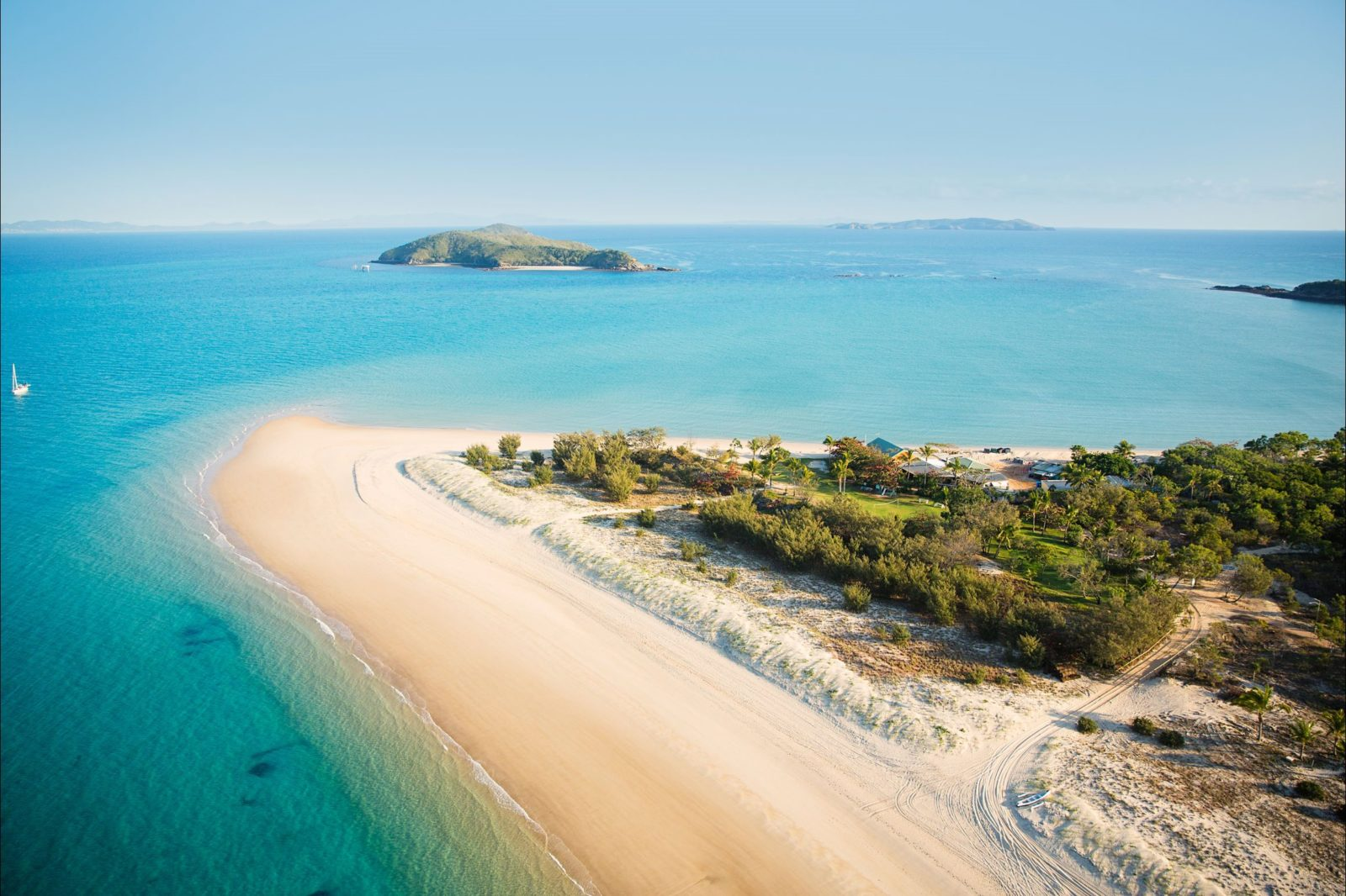 Aerial view of Great Keppel Island Hideaway