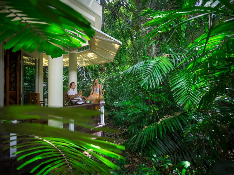 Island Suite with rainforest balcony view