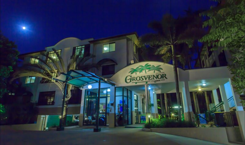 Grosvenor in Cairns - external