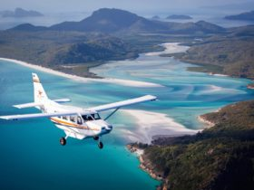 Scenic Flight over Whitehaven Beach and Hill Inlet in the Whitsundays