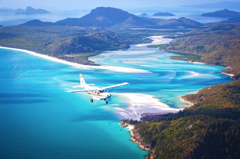 GSL Aviation Whitsundays Scenic Flight, Great Barrier Reef and Whitsunday Islands