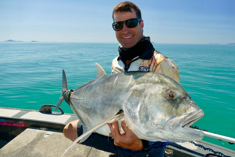 Lure up a Giant Trevally