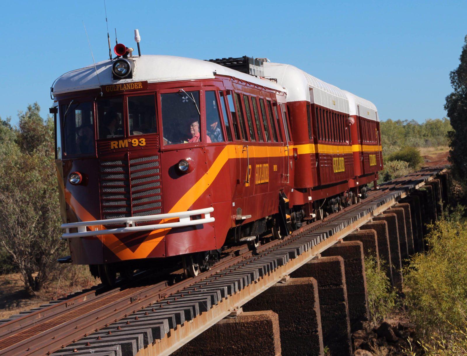 Gulflander, Normanton to Croydon