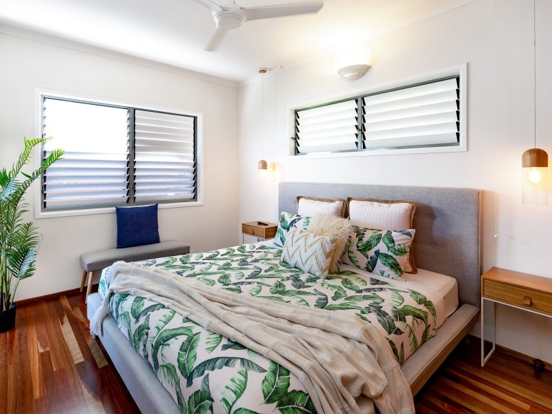 Comfortable Casuarina bedroom