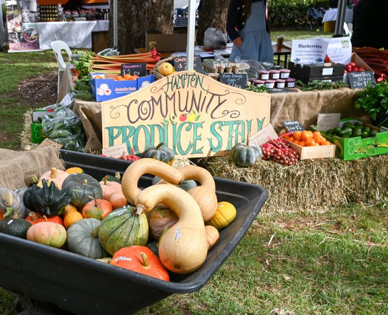 Purchase fresh, local, seasonal produce straight from our local farmers