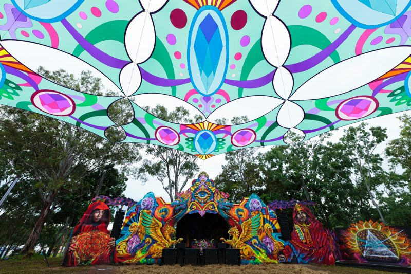 Our amazing Graf Designers create a stage you will be in awe of