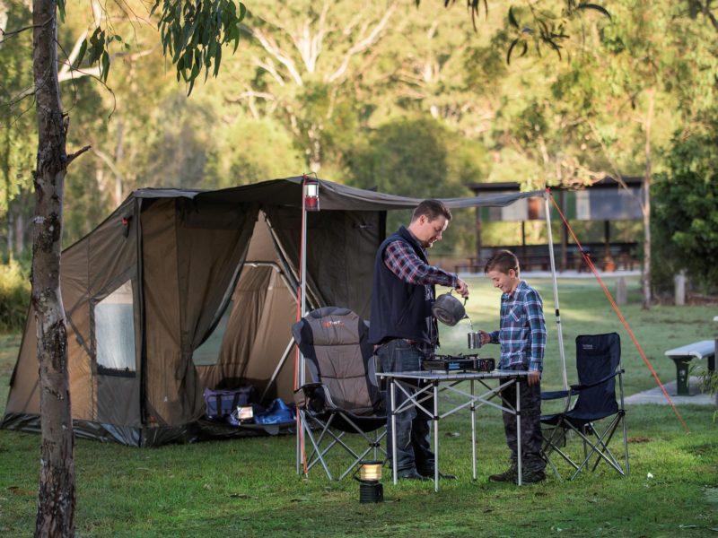 Hardings Paddock Campground, Ipswich