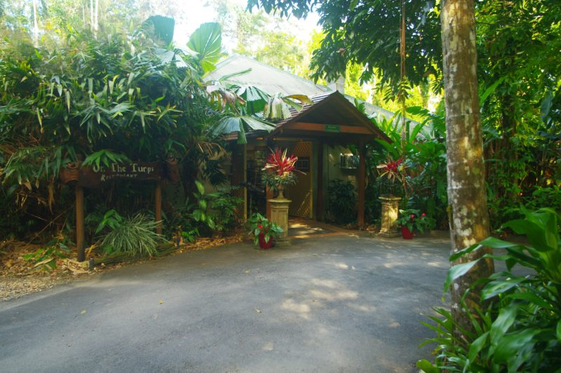 Heritage Lodge entrance